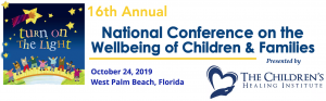 16th National National Conference on the Wellbeing of Children and Families