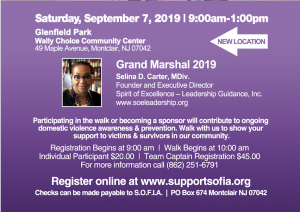 Walk Against Domestic Violence Details