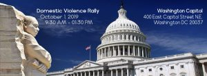 Domestic Violence Rally in DC