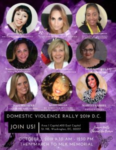 Domestic Violence Rally