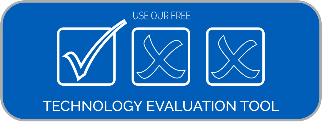 Button to access free technology evaluation tool