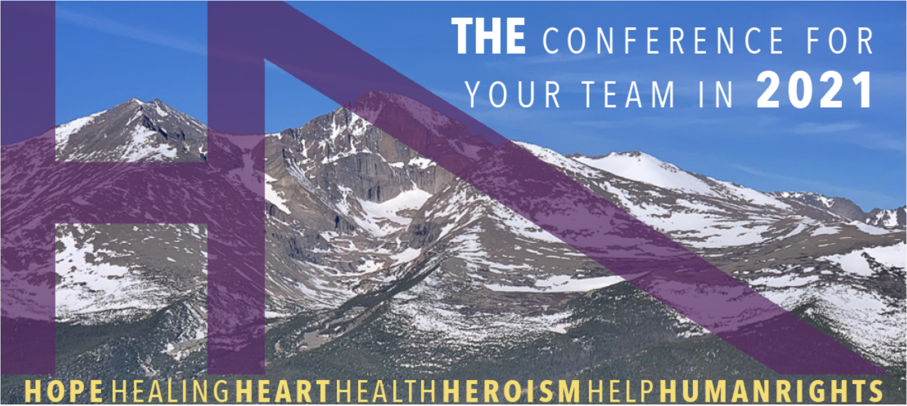 H7: Hope-Centered Work in an Age of Trauma Conference Banner