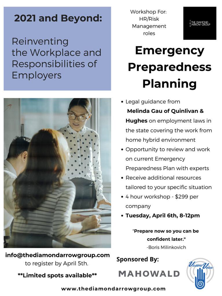 Emergency Preparedness Flyer