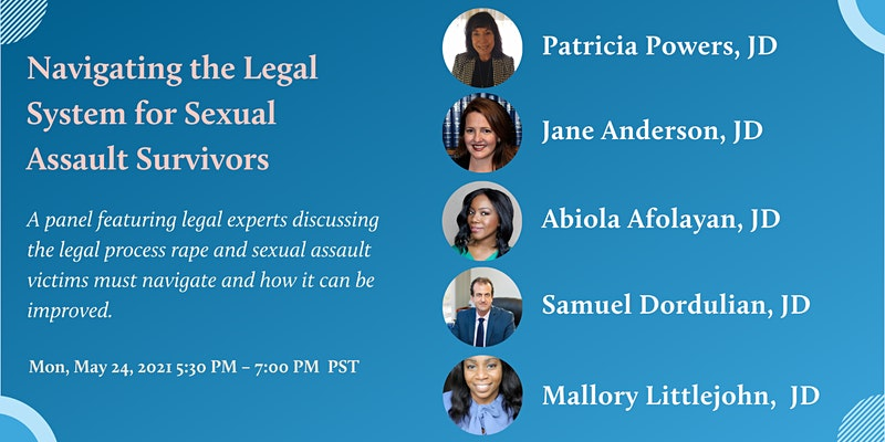 Navigating the Legal System for Sexual Assault Survivors banner